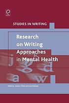 Research on writing approaches in mental health