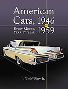 American cars, 1946-1959 : every model, year by year