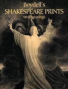 Boydell's Shakespeare prints : 90 Engravings