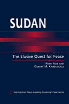 Sudan : the elusive quest for peace