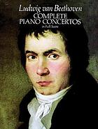 Complete piano concertos : in full score