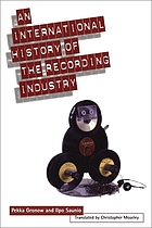 An international history of the recording industry