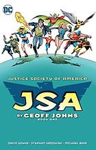 JSA by Geoff Johns. Book one