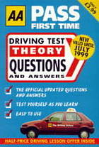 AA Pass first time : driving test theory questions and answers.