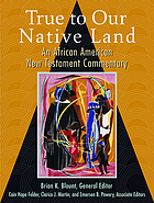 True to our native land : an African American New Testament commentary