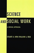 Science and social work : a critical appraisal