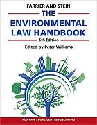 Environmental law handbook : planning and land use in new south wales.