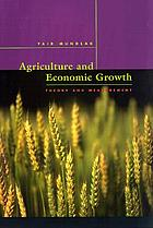 Agriculture and economic growth : theory and measurement