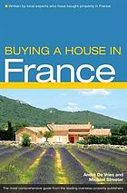 Buying a house in France.