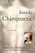 Inside chiropractic : a patient's guide