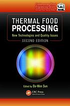 Thermal food processing : new technologies and quality issues