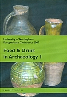Food and Drink in Archaeology cover image
