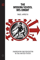 The modern school movement : anarchism and education in the United States