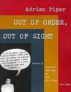 Out of order, out of sight