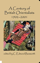 A century of British orientalists : 1902-2001