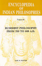 Buddhist philosophy from 350 to 600 A.D.