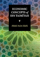 Economic concepts of Ibn Taimīyah