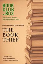 Bookclub-in-a-Box presents the discussion companion for Martin [i.e. Marcus] Zusak's novel The book thief