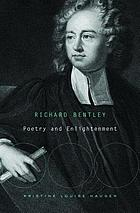 Richard Bentley : poetry and enlightenment