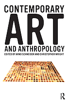 Contemporary art and anthropology