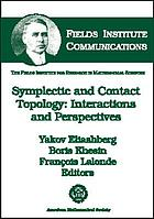 Symplectic and contact topology : interactions and perspectives ; [Workshop