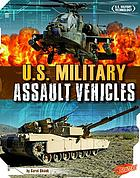 U.S. military assault vehicles