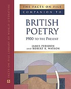 The facts on file companion to British poetry.