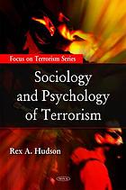 Sociology and psychology of terrorism