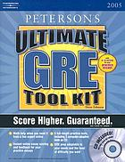Peterson's ultimate GRE tool kit