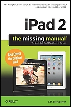 IPad 2 : the missing manual
