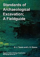 Standards of Archaeological Excavation: A Field Guide to the Methodology, Recording Techniques and Conventions cover image