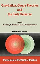 Gravitation, gauge theories and the early universe