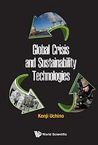 Global crisis and sustainability technologies