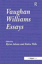 Vaughan Williams essays