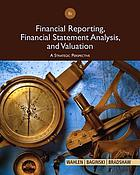 Financial reporting, financial statement analysis, and valuation : a strategic perspective.