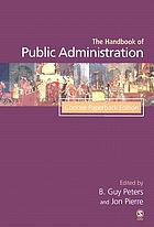Concise handbook of public administration