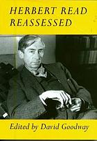 Herbert Read reassessed