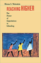 Reaching higher : the power of expectations in schooling
