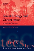 Forest ecology and conservation : a handbook of techniques