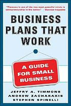 Business plans that work : a guide for small business