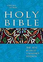 The Holy Bible : containing the Old and New Testaments : New revised standard version.