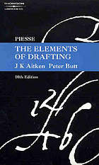 Piesse, the elements of drafting