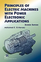 Principles of electric machines with power electronic applications
