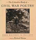 Columbia book of civil war poetry