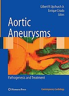 Aortic aneurysms : pathogenesis and treatment