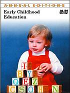 Annual editions : early childhood education 02/03