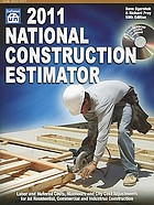 2011 national construction estimator