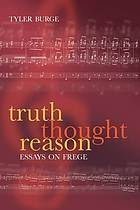 Truth, thought, reason : essays on Frege