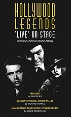 Hollywood legends : 'live' on stage