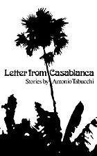 Letter from Casablanca : stories